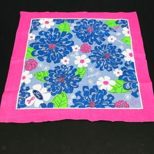 Lilly Pulitzer Breast Cancer Awareness Scarf
